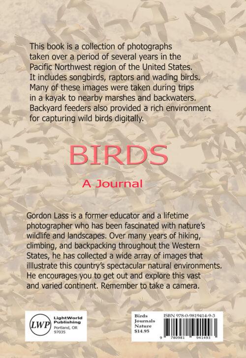 Birds Journal by Photographer Gordon Lass